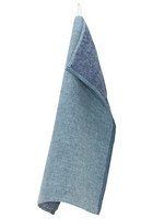 DUO -pyyhe 48x70 cm Petroli-Mustikka