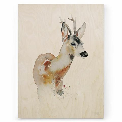 ESTER VISUAL: Metsäkauris 30x40 cm
