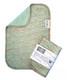 Kierti: bambuinen tiskirätti/siivousliina Suomu, vihreä, kulta