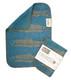 Kierti bambuinen tiskirätti/siivousliina Silakka, sininen, kulta