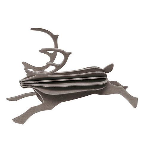 Lovi Poro, 12 cm, harmaa