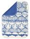 Kierti bambuinen tiskirätti/siivousliina Sipulikupoli, sinivalkoinen