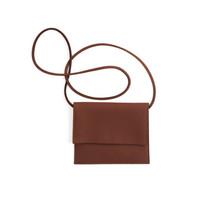 Miiko Jemma-laukku, hirvennahkaa, ruskea