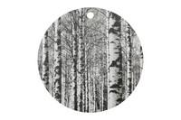 Miiko leikkuulauta Koivikko, pyöreä, halkaisija 24 cm