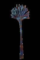 Latimeria pastaotin - yleisotin, ruostumaton teräs, uniikki velvet steel