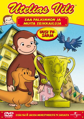 Utelias Vili saa palkinnon dvd