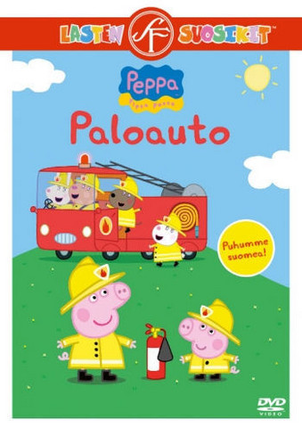 Pipsa Possu: Paloauto dvd