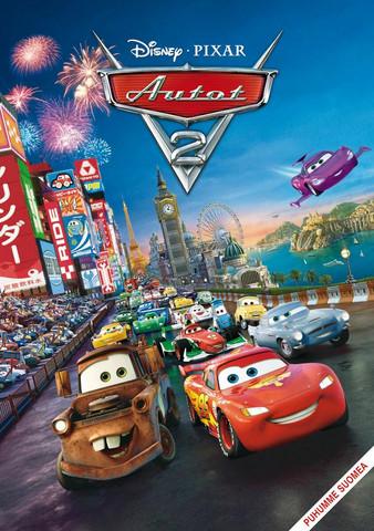 Cars Autot 2 dvd