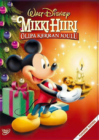 Mikki Hiiri Olipa kerran joulu dvd