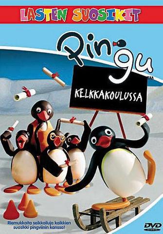 Pingu kelkkakoulussa dvd