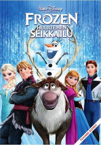 Frozen Huurteinen seikkailu dvd, Disney