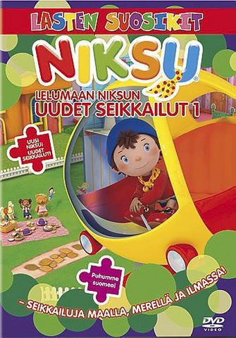 Lelumaan Niksun uudet seikkailut 1 dvd