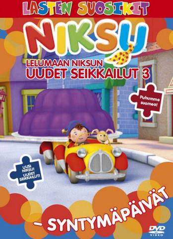 Lelumaan Niksun uudet seikkailut 3: Syntymäpäivät dvd