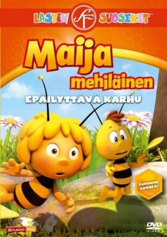 Maija Mehiläinen: Epäilyttävä karhu dvd