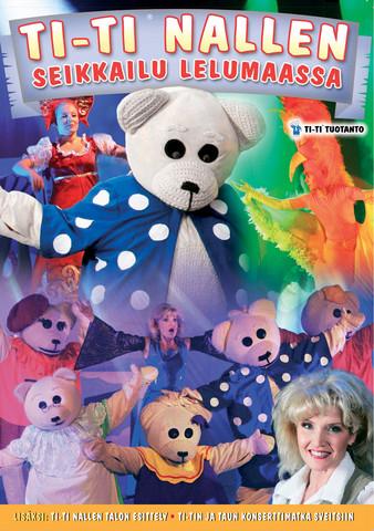 Ti-Ti Nallen Seikkailu lelumaassa dvd