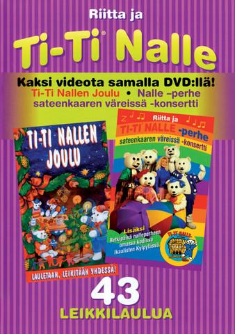 Ti-Ti Nallen Joulu + Sateenkaaren väreissä -konsertti kokoelma-dvd