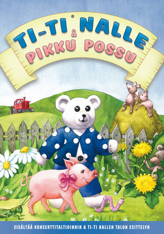 Ti-Ti Nalle ja pikku possu dvd