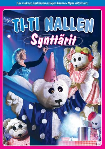 Ti-Ti Nalle: Synttärit dvd