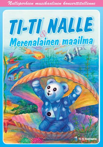 Ti-Ti Nalle: Merenalainen maailma dvd