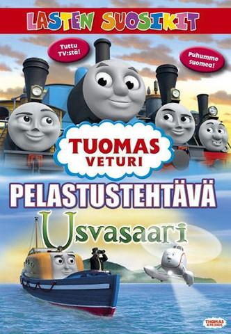 Tuomas Veturi: Pelastustehtävä Usvasaari dvd