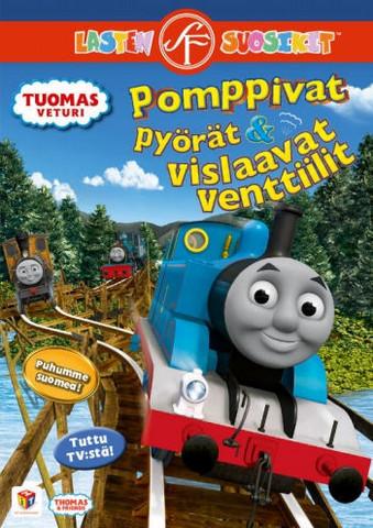 Tuomas Veturi: Pomppivat pyörät ja vislaavat venttiilit dvd