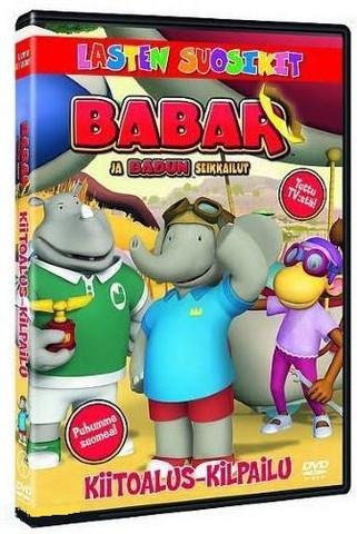 Babar: Kiitoalus-kilpailu dvd