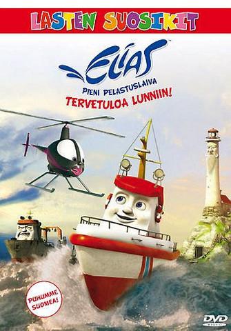 Elias pieni pelastuslaiva: Tervetuloa Lunniin dvd
