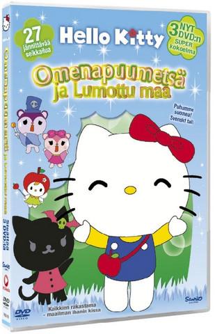 Hello Kitty Box Omenapuumetsä ja Lumottu maa 1+2+3 dvd