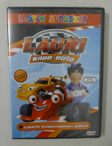 Lauri Kilpa-auto: Laurin ensimmäinen päivä dvd