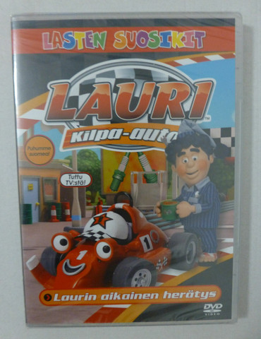 Lauri Kilpa-auto: Laurin aikainen herätys dvd