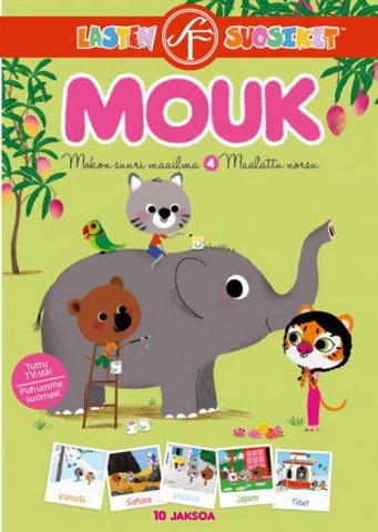 Mokon suuri maailma: Maalattu norsu dvd