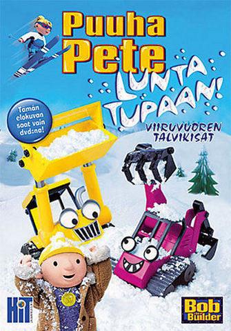 Puuha-Pete Lunta tupaan: Viiruvuoren talvikisat dvd