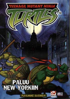 Turtles Paluu New Yorkiin dvd