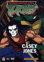 Turtles Casey Jones dvd