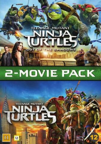 Teenage Mutant Ninja Turtles Elokuva BOX 1+2 dvd