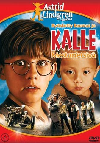 Ryöstetty Rasmus ja Kalle Mestarietsivä dvd