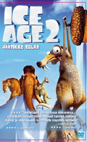Ice Age 2 Jäätikkö sulaa dvd