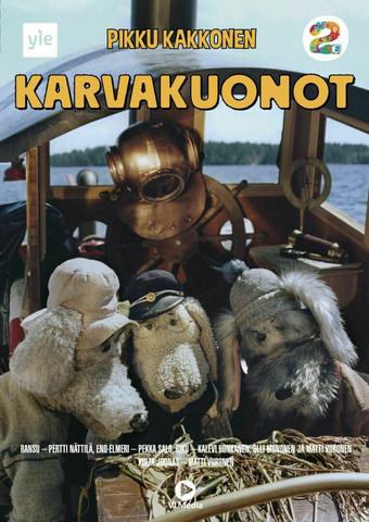 Karvakuonot dvd Pikku Kakkonen Yle