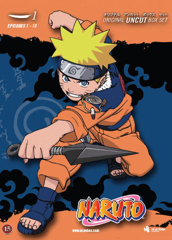 Naruto 1 box dvd
