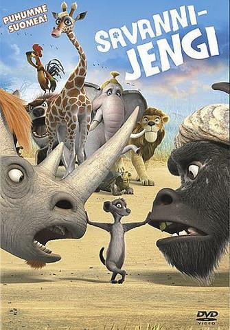 Savannijengi Elokuva dvd