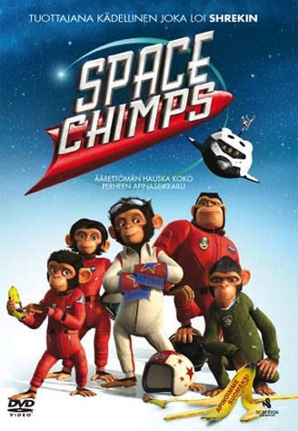 Space Chimps dvd