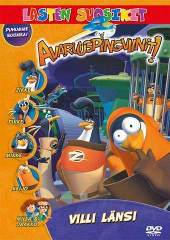 Avaruuspingviinit: Villi länsi dvd