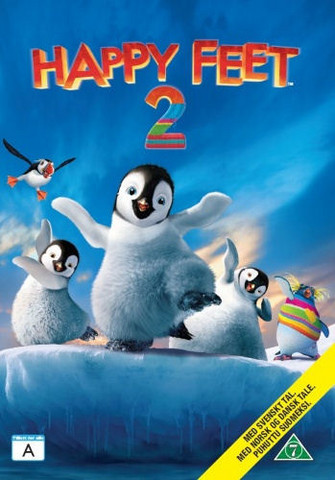 Happy Feet 2 Elokuva dvd
