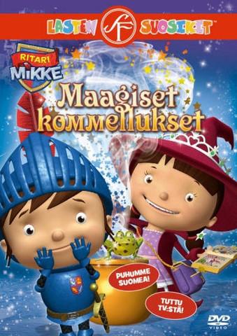 Ritari Mikke: Maagiset kommellukset dvd
