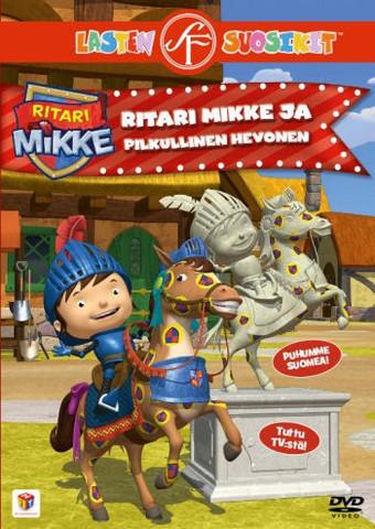 Ritari Mikke ja pilkullinen hevonen dvd