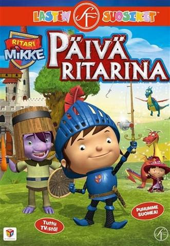 Ritari Mikke: Päivä ritarina dvd