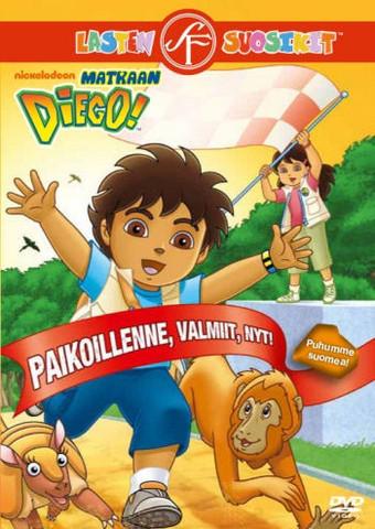 Matkaan Diego: Paikoillanne, valmiit, nyt! dvd