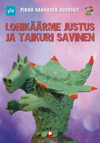 Lohikäärme Justus ja Taikuri Savinen dvd