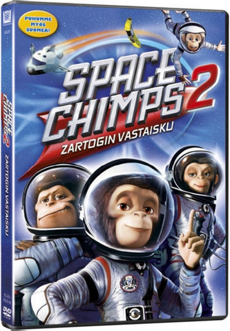 Space Chimps 2: Zartogin vastaisku dvd