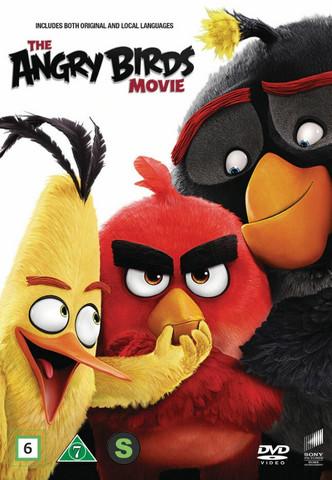 Angry Birds Elokuva dvd